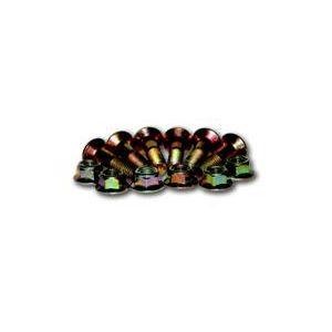 Kit 6 boulons couronnes (8x26mm)+écrous