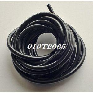 benzine slang rubber zwart diam. 6mm, lengte 5meters